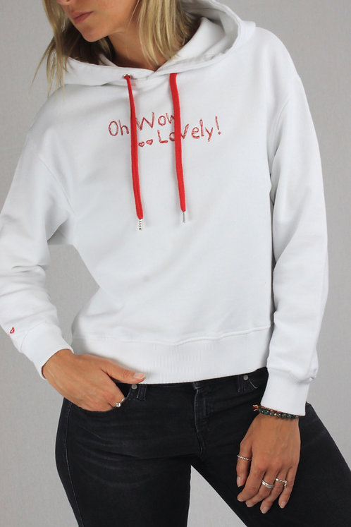 """Hoodie """"Oh wow lovely"""""""