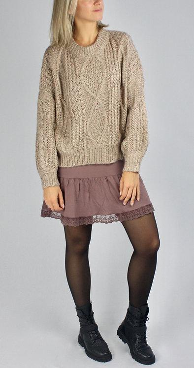 Slip-Dress Basic Weinrot