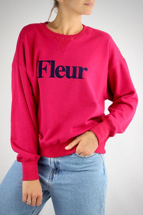 Sweatshirt Fleur