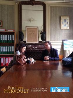 photo le parisien interview