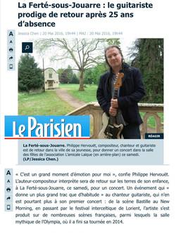 le parisien portrait P. Hervouët