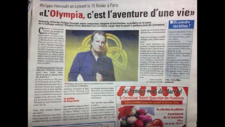 L'Olympia, l'aventure d'une vie