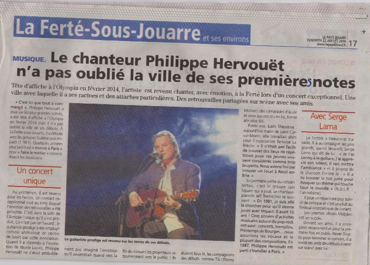 article pays briard Hervouët