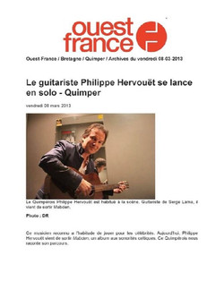 Ouest France Philippe Hervouët