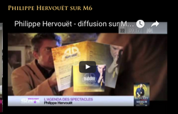 diffusions M6 clip Philippe Hervouët