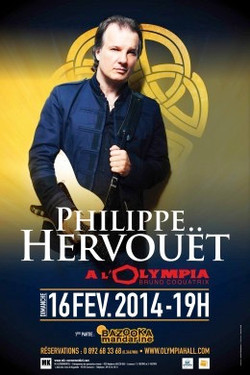 philippe hervouet affiche olympia