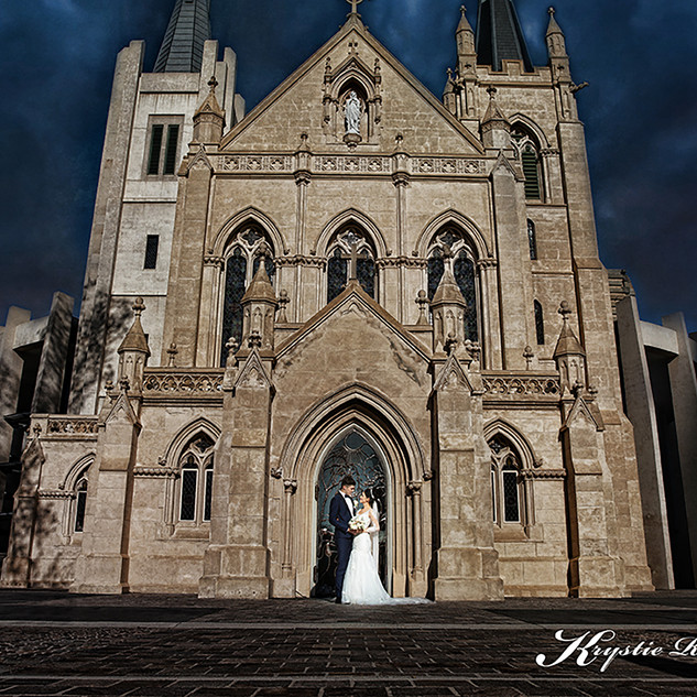 Wedding St Marys Cathedral