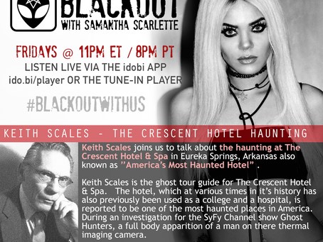 PODCAST - BLACKOUT: America's Most Haunted Hotel