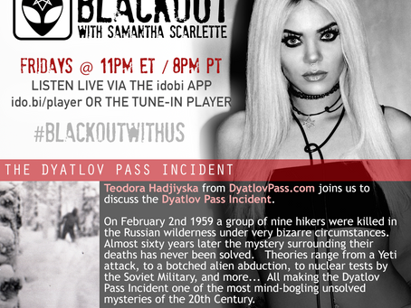 PODCAST -  BLACKOUT:  The Dyatlov Pass Incident
