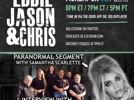 EJC Show: NJ Ghost Investigations