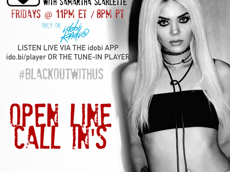 PODCAST - BLACKOUT:  August Open Lines