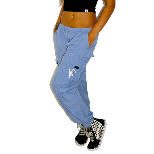 Sk8r Grrl Pants - Baby Blue