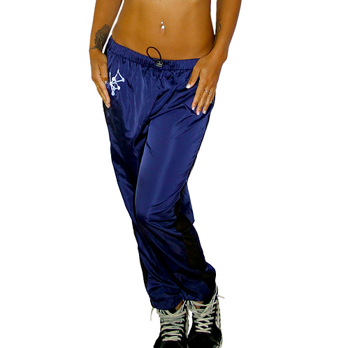 Vapor Mesh Panel Pants - NAVY