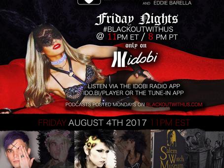 PODCAST UP - BLACKOUT: JJ Brine, Malice McMunn, Salem Witch Trials