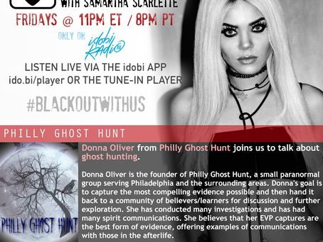 PODCAST - BLACKOUT:  PHILLY GHOST HUNT