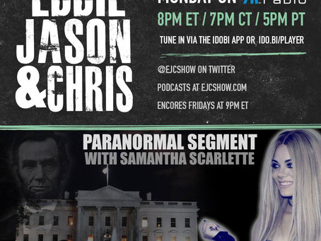 EJC Show: Jeff Belanger on White House Hauntings