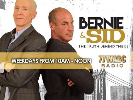 Samantha Scarlette to be a guest on WABC's Bernie & Sid Show