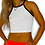 """Thumbnail: White """"Complicated"""" Crop Top"""
