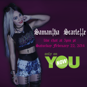 YouNow Chat with Samantha Scarlette