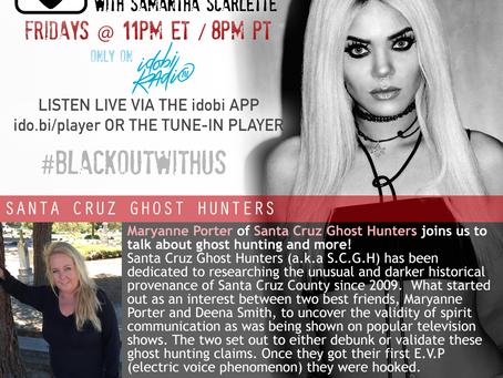 PODCAST - BLACKOUT:  Santa Cruz Ghost Hunters
