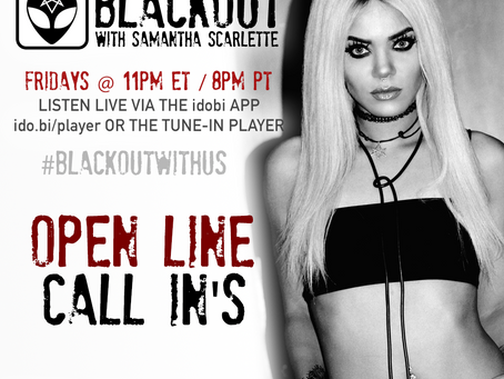 PODCAST - BLACKOUT:  Open lines