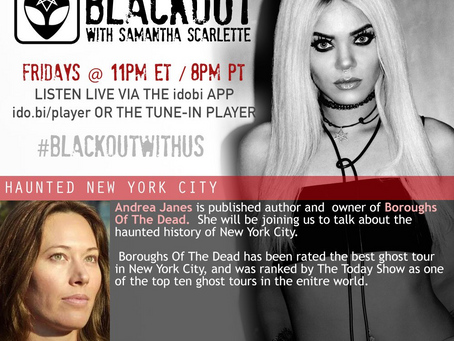 PODCAST -  BLACKOUT:  Haunted New York