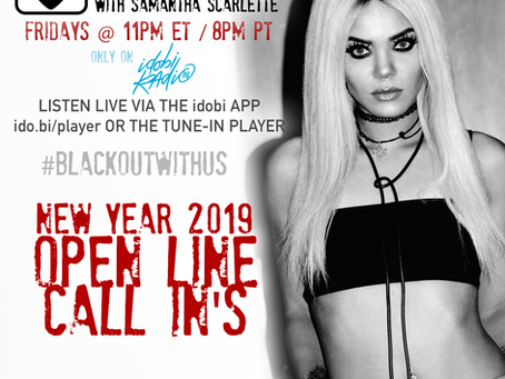 PODCAST - BLACKOUT:  New Years Open Lines