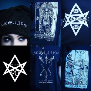 Samantha Scarlette launches new clothing line, MK-ULTRA 90