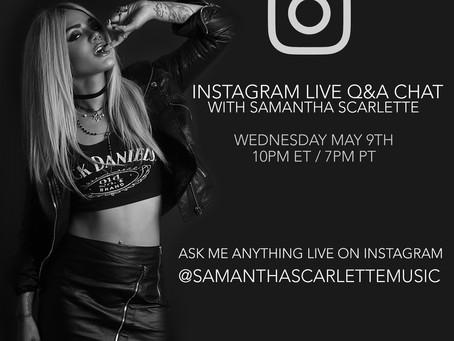 Instagram Live Q&A