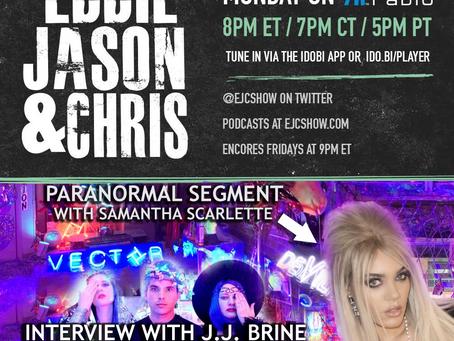EJC Show: JJ Brine owner of Satanic Vector Gallery