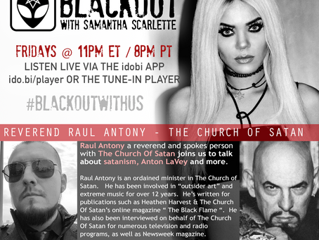 PODCAST - BLACKOUT: The Church Of Satan