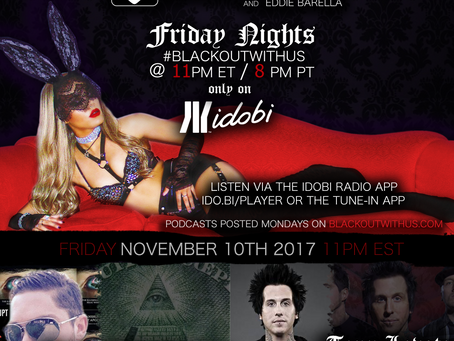 PODCAST - BLACKOUT:  MEST's Tony Lovato, Illuminati Watcher