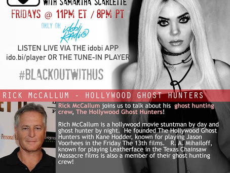 PODCAST - BLACKOUT:  Hollywood Ghost Hunters