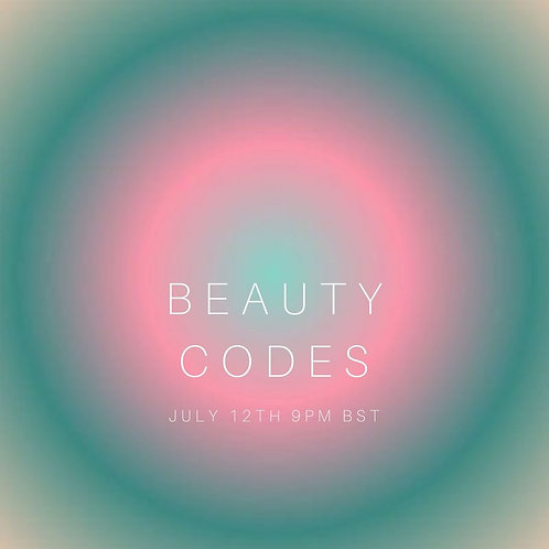 Beauty Codes - 90 minute event + support materials
