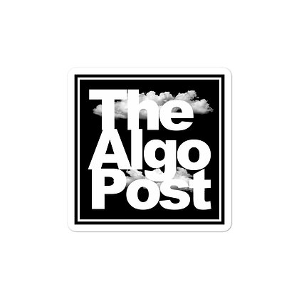 The Algo Post - Sticker