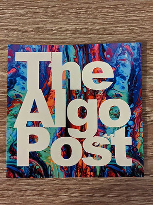 The Algo Post - Algodrip - Sticker