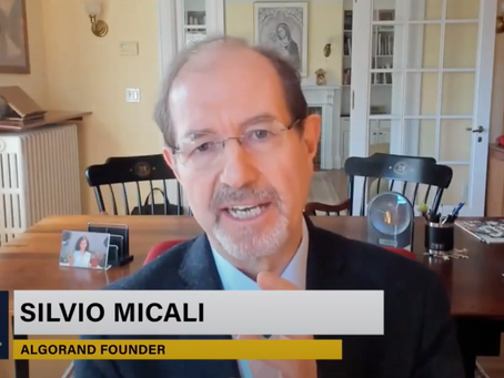 Algorand founder Silvio Micali emphasizes new use-cases, bright future for Algorand