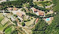 La Scheggia Holiday, Anghiari, Arezzo, Tuscany, Italy, aerial view - Fattoria La Scheggia