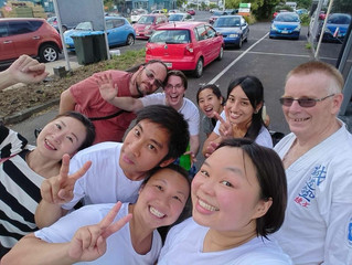 Kicking off the new year at Auckland Seido!