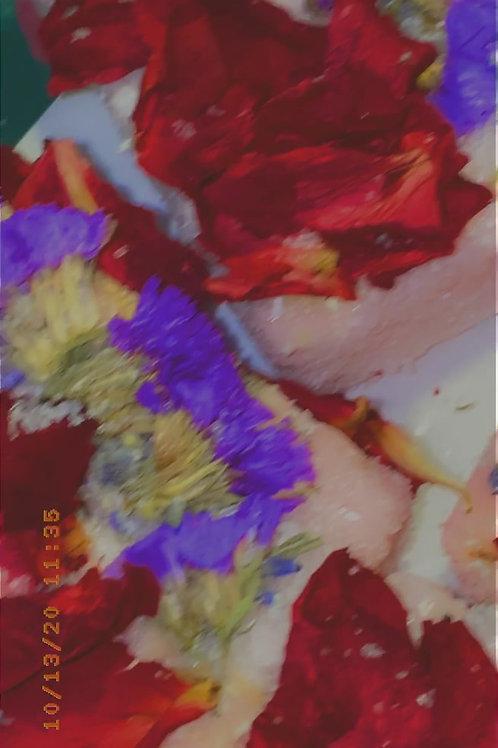 Flower Bomb Exfoliating Soap Bar