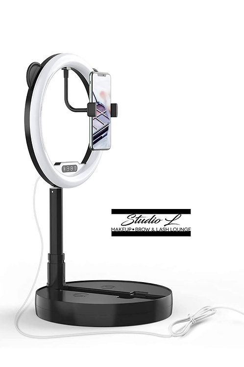 10 inch Ring Light with Stand and Phone Holder
