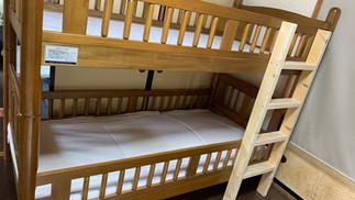 二段ベッドをDIYしてみた。(梯子のみ)