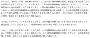 リリカ®インタビューフォームより抜粋