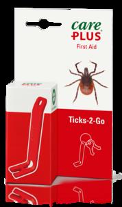 CAREPLUS - Tire tiques ticks 2 go