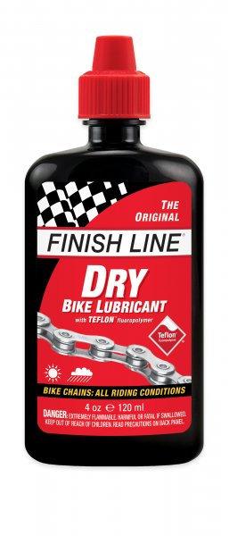 Lubrifiant vélo FINISH LINE DRY LUBE TEFLON