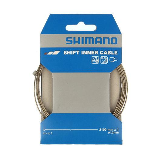Câble dérailleur inox SHIMANO 2100mm