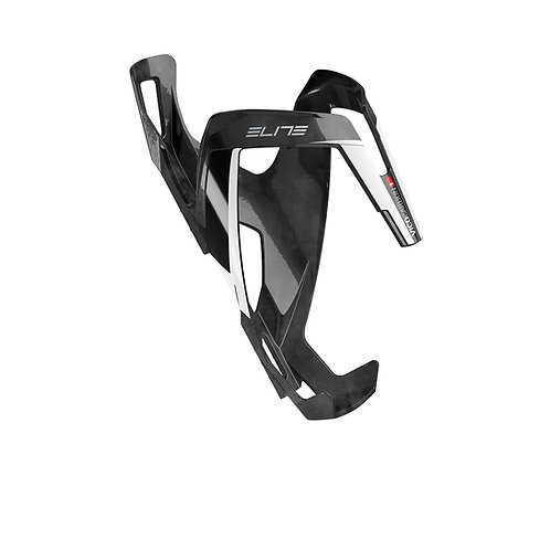 ELITE - Porte bidon carbone Vico noir blanc