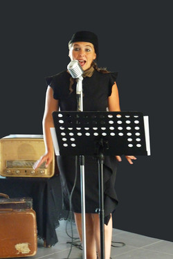 Spectacles Chanteuse EHPAD