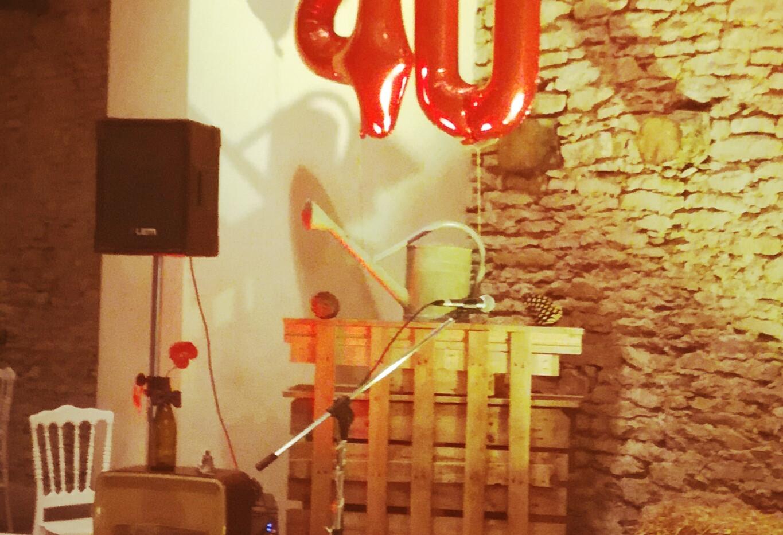 Cocktail anniversaire Guinguette