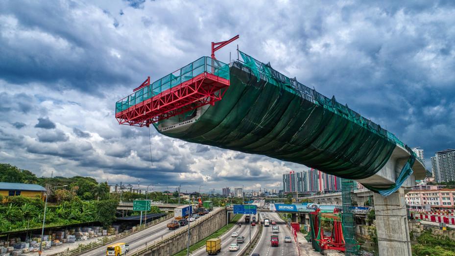 MRT Jalan Kuala Selangor Flyover